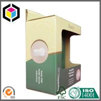 Open Window Paper Corrugated Cardboard Box Self Hanging Tab with Custom Color Print Manufactures