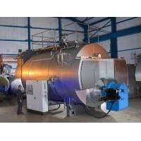 Combustion 10 Ton Gas Fired Steam Boiler With Stainless Steel Plate Manufactures