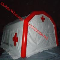 Portable 0.65mm PVC Tarpaulin Inflatable Medical Tent For Hospital Manufactures