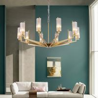 Buy cheap Crystal Pendant Lights for Indoor home Lighting Gold Color Chandelierr (WH-AP from wholesalers