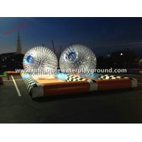 0.7mm TPU Inflatable Zorb Ball , Body Zorbing Ball Rental For Kids Fun Sports Manufactures
