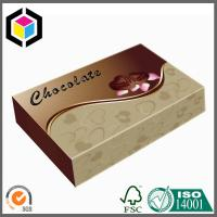 Quality Luxury Custom Color Made Chocolate Paper Box; Food Grade Chocolate Packaging Box for sale