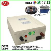 Deep Cycle Lithium Battery 24V 200Ah for Solar System/ UPS/ Electric Car/ Monitoring System Manufactures
