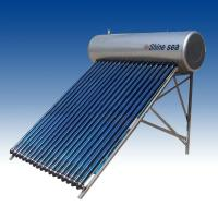 Buy cheap Evacuated tube solar water heater system from wholesalers
