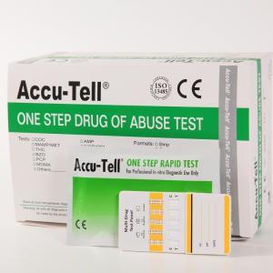 Accu-Tell® Multi-Drug Rapid Test Panel (Urine) Manufactures
