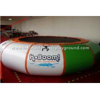 Commercial Inflatable Water Trampoline Games , Inflatable Pool Trampoline Manufactures