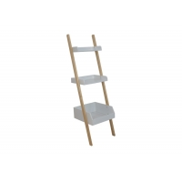Contemporary Knock Down 20KG Step Ladder Bookcase Manufactures