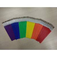 Pony Hair Artist Painting Brushes Set Long Handle With 6 Sizes 12 Pcs Per Size