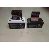 Quality 155ah 12v Front Terminal Battery / Deep Cycle Solar Battery For Telecommunicatio for sale
