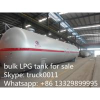 ASME standard 115cbm surface LPG gas storage tank for sale, best price big volume lpg gas storage tank for propane Manufactures