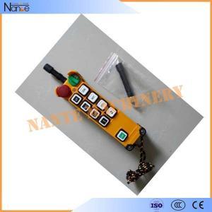 IP65 Crane Digital Wireless Hoist Remote Control 12V / 24V / 48V Manufactures