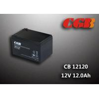 CB12120 12AH Deep Cycle Lead Acid Battery Sealed / V0 Plastic 12v Ups Battery Manufactures