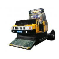 Hummer Car Racing Arcade Game Machines , Metal Commercial Gaming Machines Manufactures