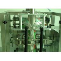 Automatic Granule Packaging Machine , Pouch Filling Machine 8-25 Pouches/Min Manufactures