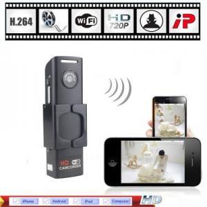 China Wholesale - H.264 HD 720P Mini Wifi IP Camera Wireless Hidden Spy Security Camera DVR CCTV on sale