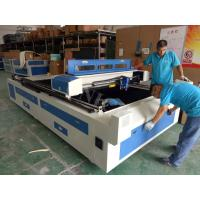Ball screw transmission Laser Metal Cutting Machine with blade table Manufactures