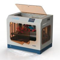 PEEK High Speed 3d Printer , Industrial 3d Printer With Dual Nozzles Manufactures