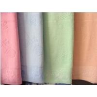 Buy cheap 100% cotton wholesale towel blanket from wholesalers