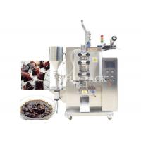 Pillow Bag Automatic Packaging Machines For Sesame Paste / Ointment Manufactures