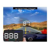 GPS HUD Windshield Speed Projector , DC 8 - 18 - 24V Audi A5 Heads Up Display Manufactures