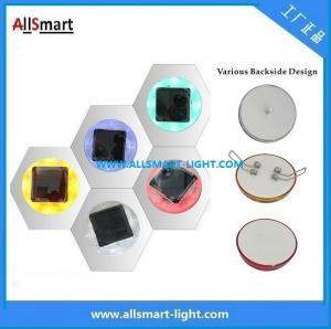 Quality CE IP68 ASD-011 Plastic Solar Road Stud/LED Cat Eyes Traffic Cone Light for sale