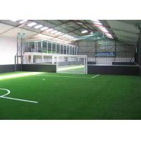 Eco Friendly Synthetic Artificial Grass / Indoor Football Turf  20GP Loading 2800 - 3200 ㎡ Manufactures