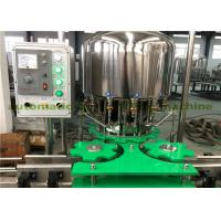 Electric 2.25KW Pet Bottled Bverage Filling Capping Machine For Small Water Plant Manufactures