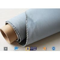 1600GSM 1.2MM Gray Silicone Coated Fiberglass Fabric For Flexible Joints Manufactures