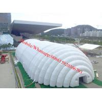 Largest Inflatable Tent , White Marquee Inflatable Exhibition Tent for Ourdoor Use Manufactures