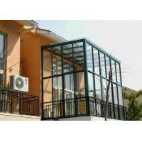 Garden House Aluminium Large Glass Greenhouse Polycarbonate Double Glazing Manufactures