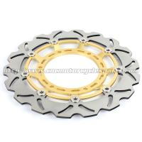 320mm Durable Wave Floating Motorcycle Brake Discs for Yamaha XT600X Manufactures