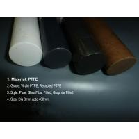 Bronze Fiber PTFE Teflon Rod Glass Carbon Graphite / Beads Filled Manufactures