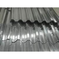 YX900B YX 820ANGLE YX828  GB JIS grey color roofing Galvanized corrugated steel sheet  Manufactures