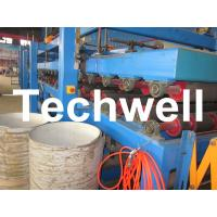 Rock Wool Insulated Sandwich Panel Cold Roll Forming Machine 0 - 4.05 m / Min Speed Manufactures