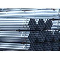 10 Foot Galvanized Pipe Corrosion Resistant Coating Strong Structure Manufactures