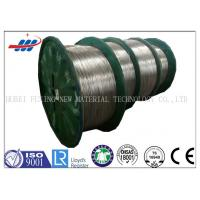 Quality Hot - Dipped High Carbon Steel Wire 3.0mm For Elevator / Mechanical Equipment for sale