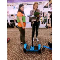 Mini Standing Self Balance Segway Electric Scooter 19CM Tire With Handle Bar Manufactures
