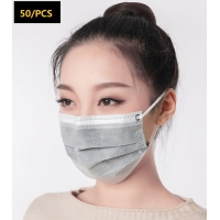 Disposable Breathable 4 Layer Activated Carbon and non-woven fabric protective Mask Manufactures