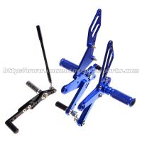 Multi - Color High Performance Motorcycle Rear Sets For Racing Bike Parts Manufactures