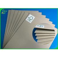 Buy cheap Customized Grey Back Board 2MM Size Mixed Pulp Material For Making Folder from wholesalers