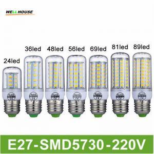 Goodland Brand LED Lamp E27 220V LED Light 24/36/48/56/69/81/89LEDs Lampada LED Bulb Christmas Chandelier Lights Manufactures
