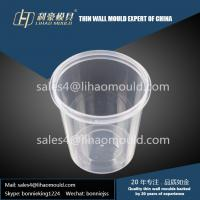 400ml plastic take away chinese thin walled container mould expert Manufactures