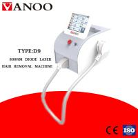 Most Effective 808nm Diode Laser Hair Removal Machine For Dark Skin 3 - 40 J/Cm2 Manufactures