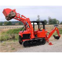 customized mini crawler dozer diesel engine bulldozer farm tractor with front loader Manufactures