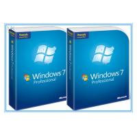 Quality Microsoft Windows Software Windows 7 Pro 64 Bit Full Retail Version DVD Sofware for sale