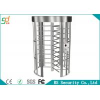Intelligent Access Full Height Turnstiles Compatible IC ID Magnetic Cards Manufactures