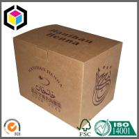 Brown Kraft Paper Cardboard Custom Color Print Carton Paper Box Manufactures