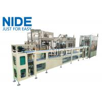 PLC Controlled Automatic Stator Production Assembly Line For Elelctric Motor Manufactures
