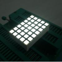 White 5x7 Dot Matrix LED Display High Efficiency Programmable LED Display Manufactures