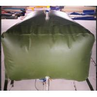 Army 3000L Gasoline Bladder Fuel Tank Collapsible Water Bladder Tank For Truck Manufactures